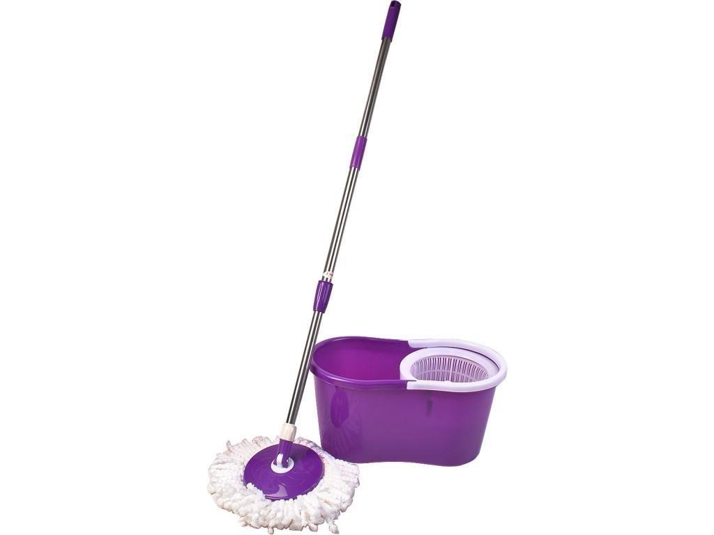 Pro 360 Rotating Spin Magic Mop Bucket No Foot Pedal