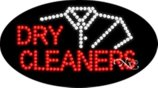 BestDealDepot LED Flasher Signs DRY CLEANERS Business Sign 15