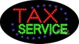 BestDealDepot LED Flasher Signs TAX SERVICE Business Sign 15