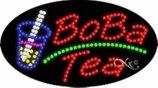 BestDealDepot LED Flasher Signs BoBa Tea Business Sign 15