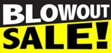 Blowout Sale - Store Retail Business Sign Banner
