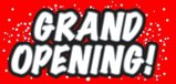 Grand Opening - Retail Business Store Sign Banner