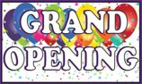 3ft x 5ft - GRAND OPENING BANNER BUY 3 GET 4th one for FREE