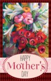 Happy Mother's Day With A Vase Of Flowers Garden Flag Decorative Flag - 28