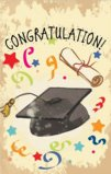 Graduation Theme Congratulation Garden Flag Decorative Flag - 12.5