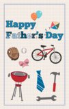 Happpy Father's Day Theme Garden Flag Decorative Flag - 12.5