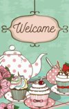 Welcome Flag With Cupcakes Garden Flag Decorative Flag - 12.5
