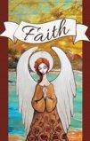 Faith With An Angel Garden Flag Decorative Flag - 12.5