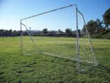 Best Deal Depot 12' X 6' Soccer Goal with Net, Velcro Straps, Anchor Large Soccer Goal Sports
