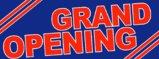 Grand Opening - Vinyl Outdoor Banner - 8'x3'